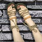 Womens summer hot retro gladiator open toe lace up fashion sandals shoes vogue_