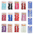100 PCS False Acrylic Gel French Nail Art Half Natural Color French Tips