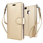 For Various Huawei Wallet Case Cover Card Slot Stand PU Leather Full Protection