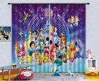 3D Cartoon 316 Blockout Photo Curtain Printing Curtains Drapes Fabric Window AU