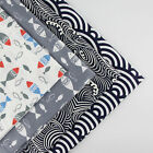 160x50cm Japanese Style cotton fabric patchwork quilt sewing DIY Cloth 4 Colors