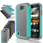 LG Optimus Zone 3 /Rebel LTE /K4/Spree Phone Case Shockproof Rugged Impact Cover