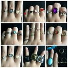 Charm mix Color Ring Set for Women Vintage Boho Knuckle Party Rings Punk Jewelry
