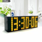 Modern Kitchen Large Led Clock Digital Table Big Screen Timer Watches Wall Clock