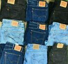 MEN`S VINTAGE LEVI`S 505 GRADE A STRAIGHT LEG DENIM JEANS REGULAR FIT <br/> W30 W31 W32 W33 W34 W35 W36 W38 W40 W42 W44