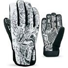 Dakine Crossfire Men's Snowboarding Ski Gloves AC Series Black & White