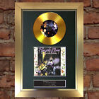 GOLD DISC PRINCE Purple Rain Album Cd Signed Autograph Mounted Repro A4 #146