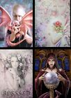 ANNE STOKES WALL PLAQUE PICTURE DRAGON KIN MYSTIC AURA JESSICA GALBRETH FAIRY