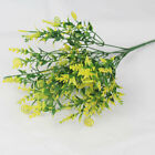 Artifical Flowers Fake Plant Grass Plastic Leaf Lawn Outdoor Wedding Home Decor