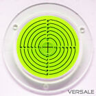 Circular Level Spirit Level Large Ø 3 15/16x0 9/16in Dragon Fly Precision Scale