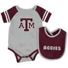 Texas A&M Aggies Colosseum Roll-Out Infant One Piece Outfit and Bib Set