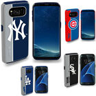 For Samsung Galaxy S7 Case Official MLB Impact Shock Drop Dust Proof Fan Cover