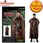 CA556 Medieval Game of Thrones Jon Snow Fancy Cosplay Costume Cloak Cape Outfit