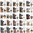 Funko Pocket Pop!PVC Keychain Harley Quinn ,The Joker Vinyl Figure Keyring Gift