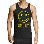 Smiley Face Herren Tank Top Emoji Kostüm Fasching Gamer sms gesicht icon chat