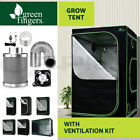 Hydroponics Grow Tent Ventilation Kit Greenroots Aluminum Interior Oxford Cloth