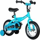Mearx Children's Bike with Training Wheels 12 Inch