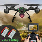 5.8G FPV RC Quadcopter JXD 510G+2.0MP HD Camera 6 Axis Gyro RC Drone Set Height