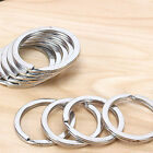 "Внешний вид - Stainless Steel 19-30mm 1"" Key Rings Key Chains 1 inch Split Rings 10-100 pcs"