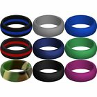 New Silicone Ring - High Grade Hypoalergenic Wedding Ring Replacement Jewelry