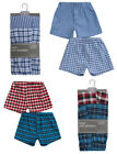 Boys Boxer Shorts Underwear 2 Pack Classic Design Woven Polycotton 7 to 13 Years
