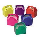 Party Boxes All Colours Available & Amounts - Food Meal Box + FREE TABLECOVER