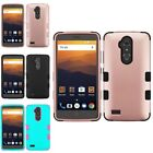 For ZTE Blade Max 3/Max XL N9520 Tuff Hard TPU Hybrid Protector Case Cover