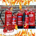 FIRE EXTINGUISHER(Dry Powder 1kg,2kg,4kg,6kg)(Foam 2l & 6l Litre)Fire Protection