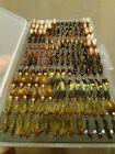 Fly Box Full Of Fly Fishing Buzzers Nymphs Dry Lures Wet Trout Flies