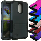 Heavy Armor Kickstand Shockproof Cover Case For LG Aristo 2 X210 Tribute Dynasty