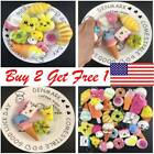 Lot Stress Anxiety Reliever Therapy Scented Squashy Squeeze Toy Phone Charm Gift