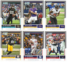 2017 Panini Score Football -  Scorecard Parallels - Choose From Card #'s 1-440 $0.99 USD on eBay