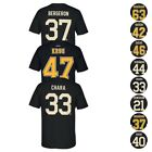 Boston Bruins NHL Reebok Player Name & Number Team Premier Jersey T-Shirt Men's <br/> Choose From Various Players/Colors/Sz!! 100% Authentic!