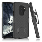 SAMSUNG GALAXY S9 Plus SHELL HOLSTER BELT CLIP COMBO CASE COVER WITH KICKSTAND