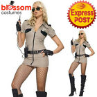 CA608 Leg Avenue Sheriff Police Woman Costume Cops & Robbers Fancy Dress Outfit