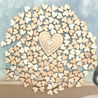 100pcs Rustic Wooden Love Heart Wedding Table Scatter Decoration Wood Crafts ………