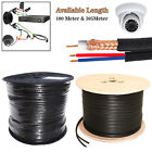100M 305M Security Camera CCTV RG59 SHOTGUN Coaxial Cable 2 Video Power Satelite