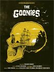Holzbild / Holzdruck The Goonies movie inspired skul... - Golden Planet Prints