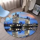 3D London Bridge 213 Non Slip Rug Mat Room Mat Round Quality Elegant Carpet AU