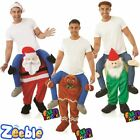 Adult Lift Me Up Costume Christmas Santa Gingerbread Man Gnome Fancy Dress