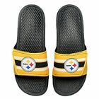 PITTSBURGH STEELERS NEW LEGACY SLIDES  UNISEX  CHOOSE SIZE