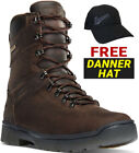 "Danner Men's IronSoft 8"" Brown Boots W/ Free Danner Hat"