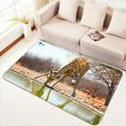3D Drinking Giraffe 36 Non Slip Rug Mat Room Mat Quality Elegant Photo Carpet AU