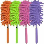 75cm Telescopic Microfibre Cleaning Duster Brush Extendible Soft Grip Handle New
