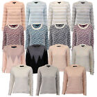 Ladies Jumpers Womens Knitted Mohair Top Pullover Sweater Amara Reya Winter New