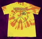 New Woodstock Concert Tie Dye 1969 Yellow Vintage Mens T-Shirt image