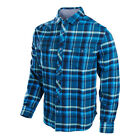Troy Lee Designs Octane Woven Shirt Blue Mens All Sizes