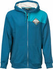 Fly Racing Adult Patch Hoodie Blue Hoody S-2XL