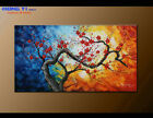 Original Decor Plum Blossom Abstract Oil Painting Modern Canvas Wall Art FY3644