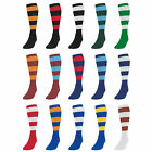 Precision Training Contrast Hoop Club Football Socks All Sizes And Colours rr£8